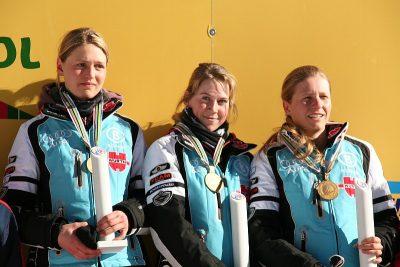 Carolin Hennecke, Juliane Döll und Franziska Hildebrand