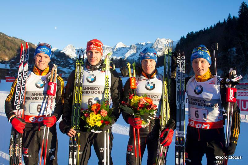 biathlon staffel herren heute