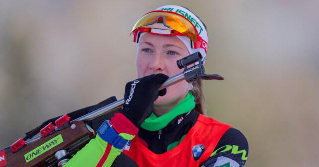 IBU world cup biathlon, mass women, Ruhpolding (GER)