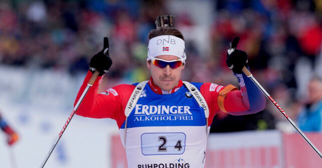 biathlon antholz staffel herren