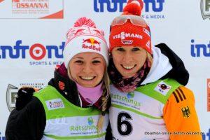 Miriam Gössner und Karolin Horchler - GER