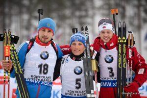 Anton Shipulin (RUS), Erik LESSER (GER),Tarjei BOE (NOR),