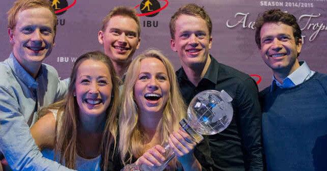 Team Norwegen für kommende Biathlonsaison