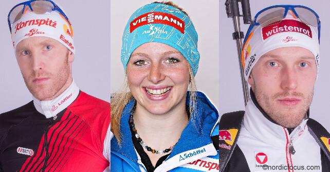 Biathlon Nationalkader des ÖSV für Saison 2015/2016