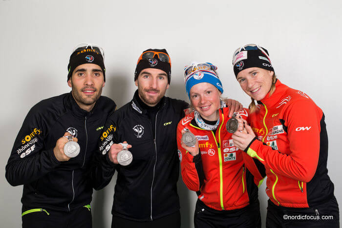 biathlon damen frankreich