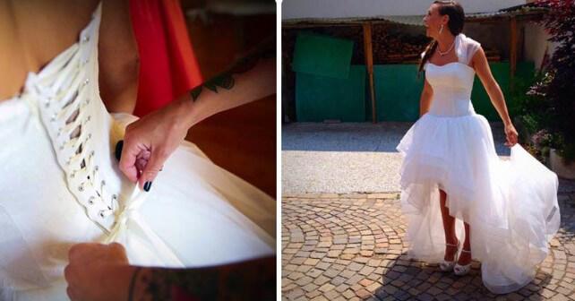 Dorothea Wierer: Mein Hochzeitskleid für Nepal!