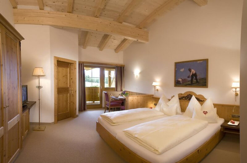 Hotel Unterlechner Zimmer