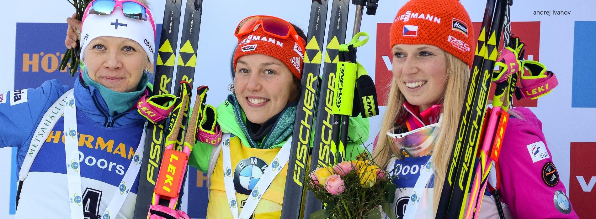 Laura Dahlmeier Sieg in Pokljuka Verfolger