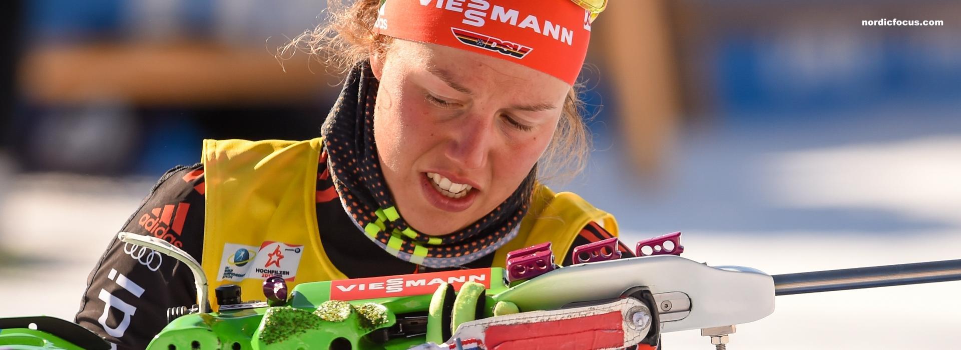 Laura Dahlmeier Gesamtweltcup