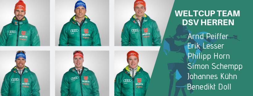 Biathlon Herren Team Weltcup DSV 2018/19