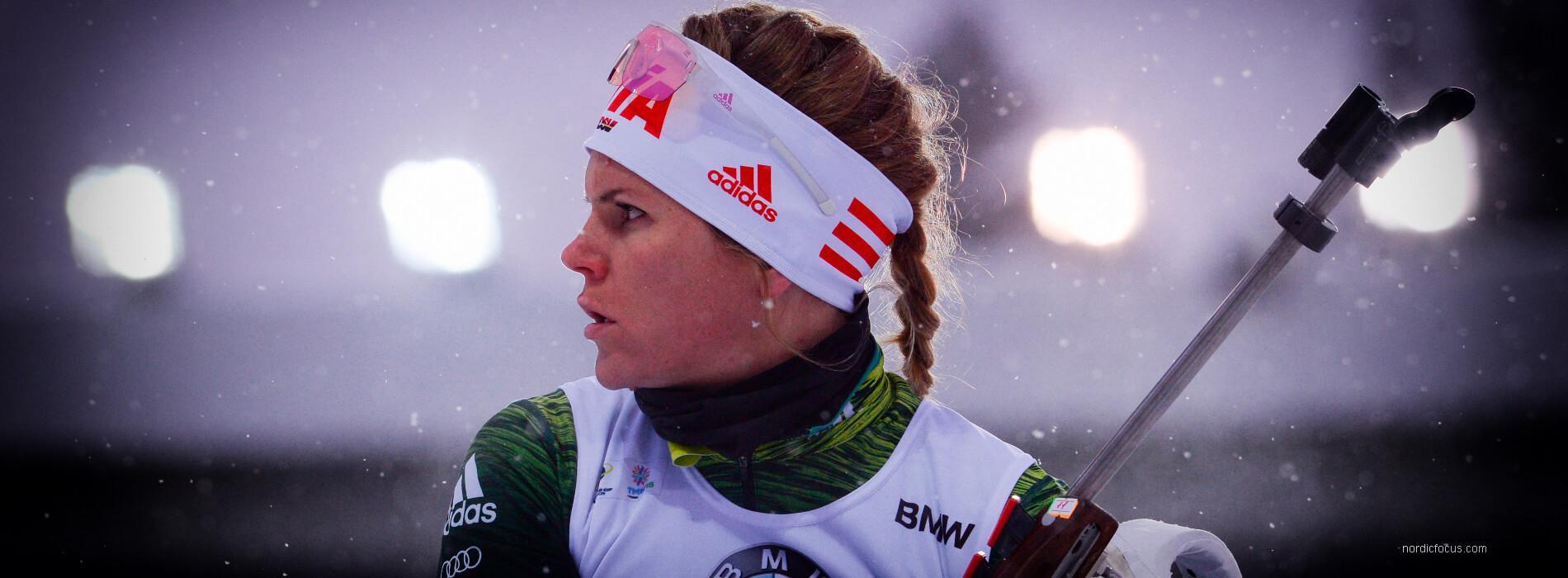 Nadine Horchler Saisonstart IBU Cup 2018/19 Idre