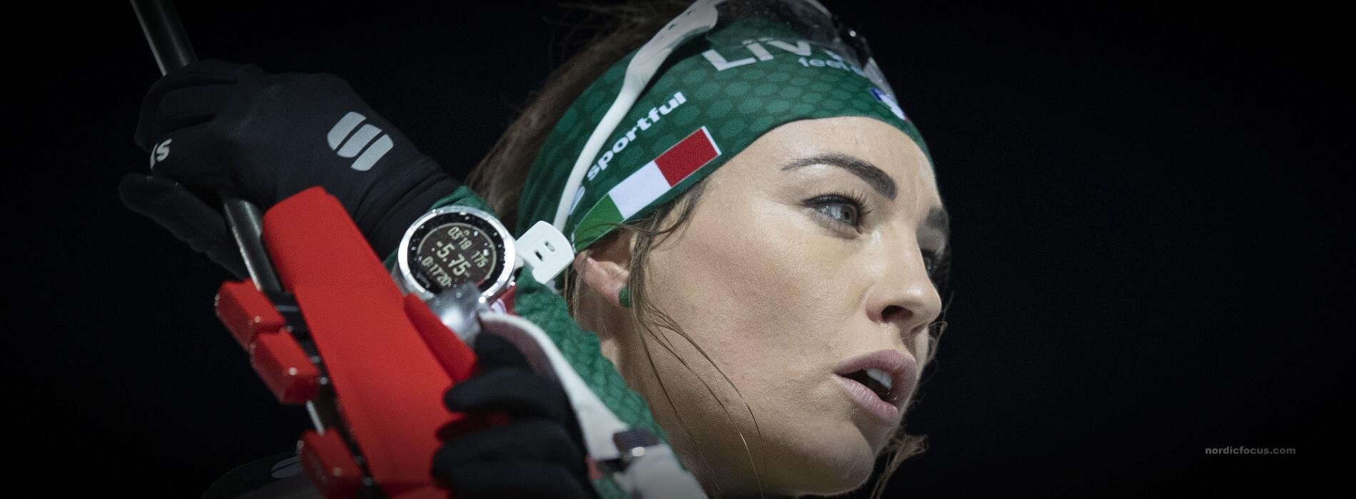Dorothea Wierer Biathlon auf Schalke