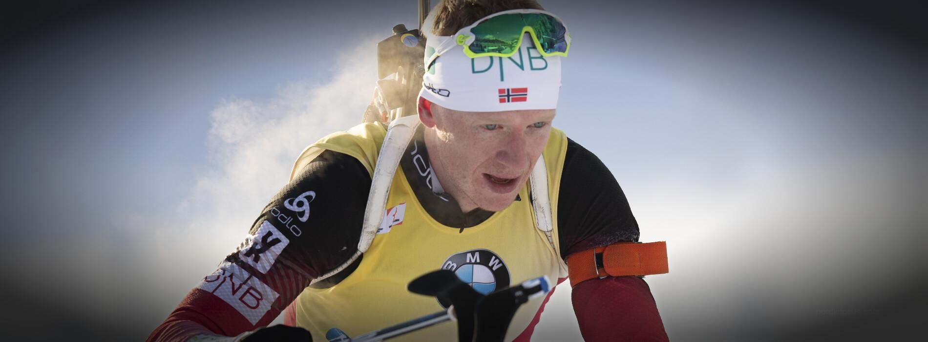 Johannes Thingnes Boe Nove Mesto Sprint 2018