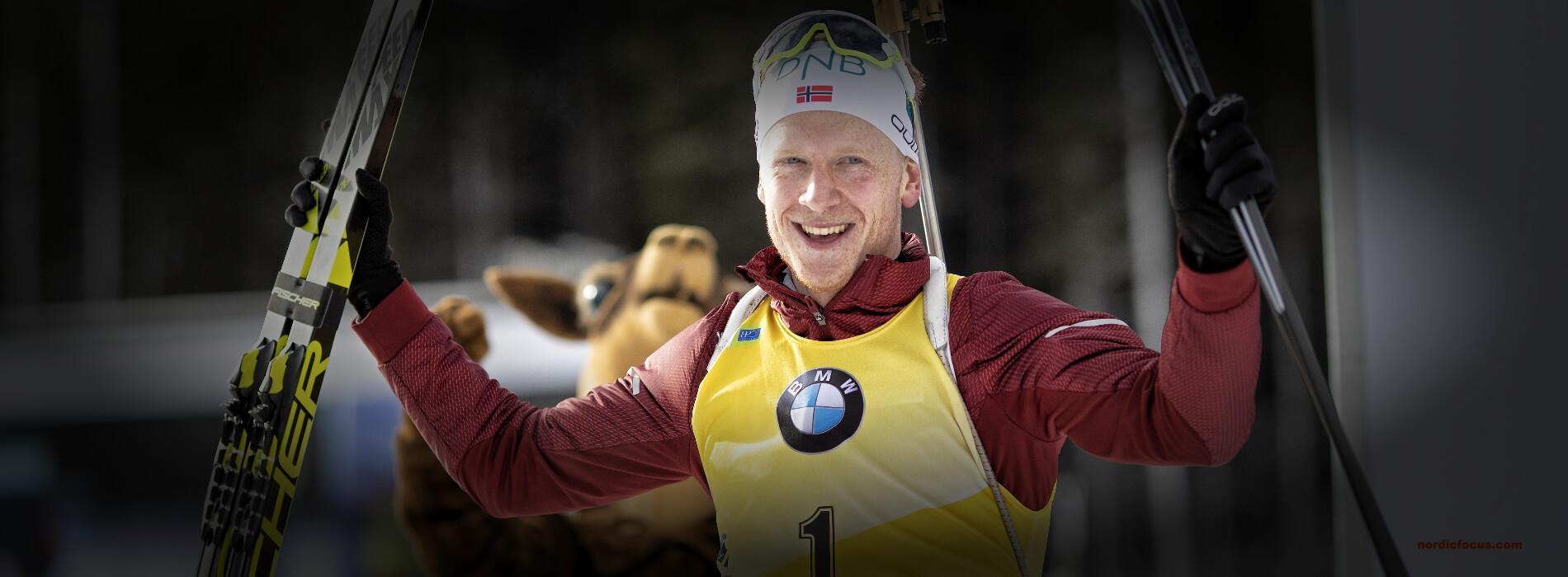 Johannes Thingnes Boe Sieger in Antholz, Sprint 2019