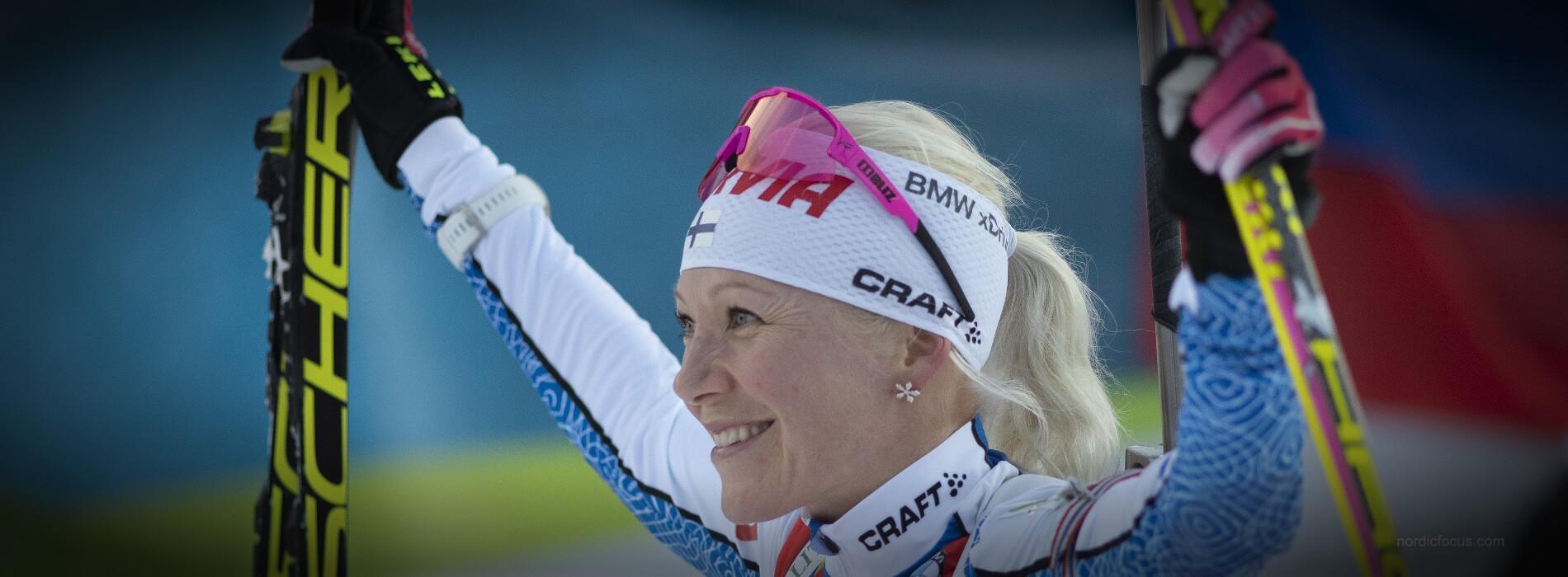 Kaisa Mäkäräinen Hochfilzen Biathlon Weltcup 2018 Verfolgung