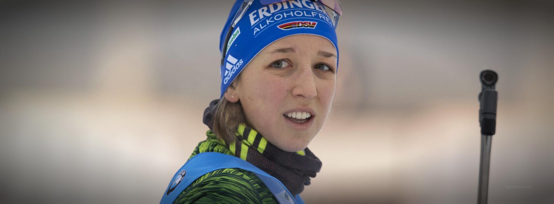 Franziska Preuß Oberhof 2019