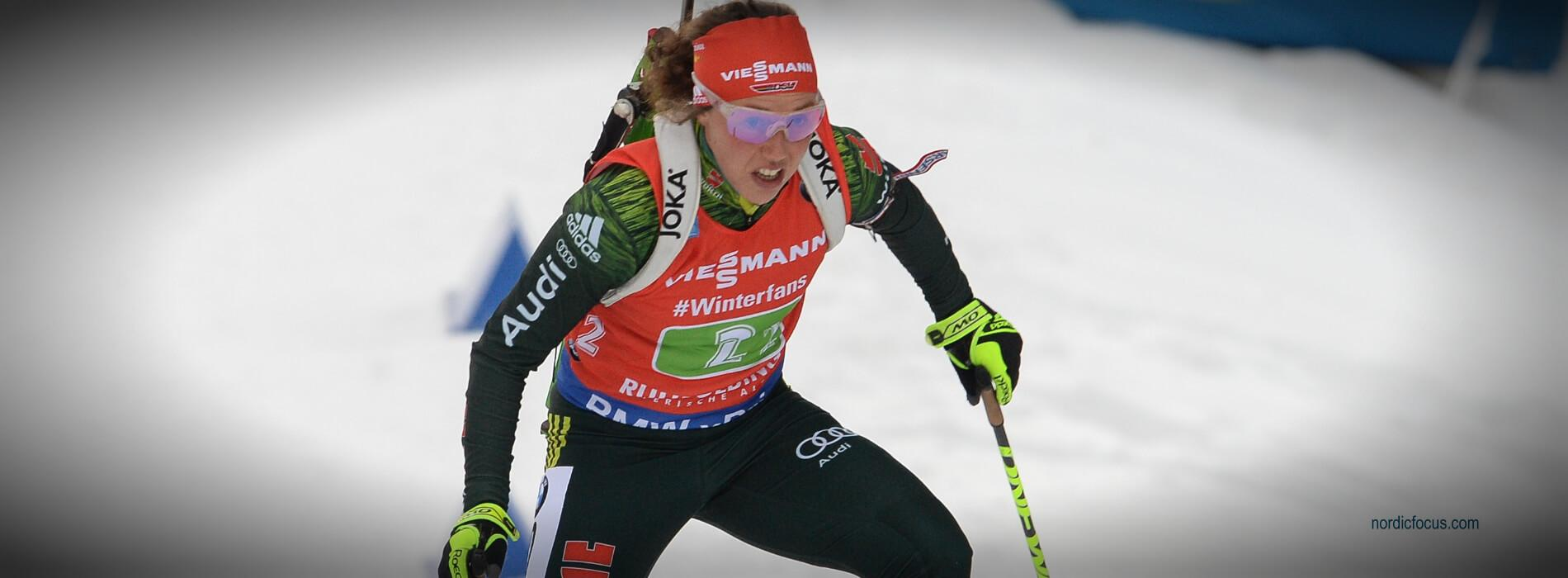 Laura Dahlmeier Antholz 2019