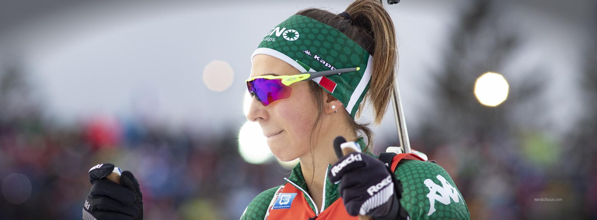 Lisa Vittozzi Oberhof Sprint 2019