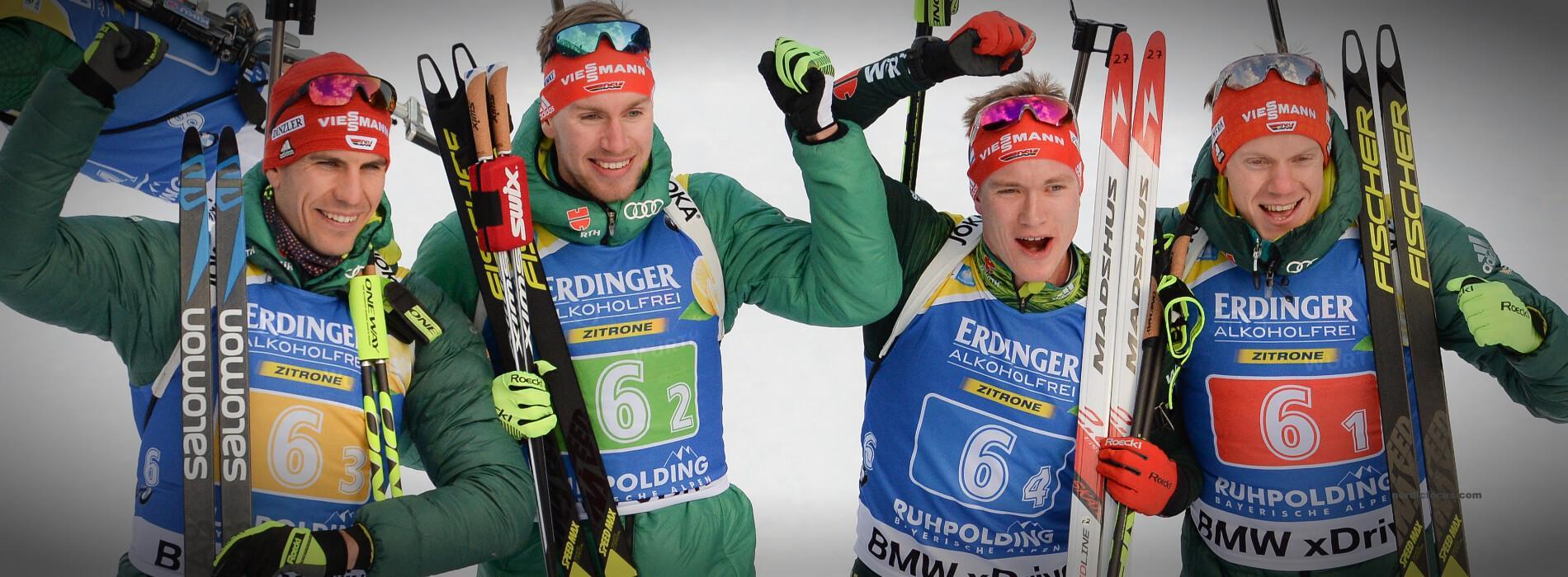 Staffel Deutschland Herren Ruhpolding 2019