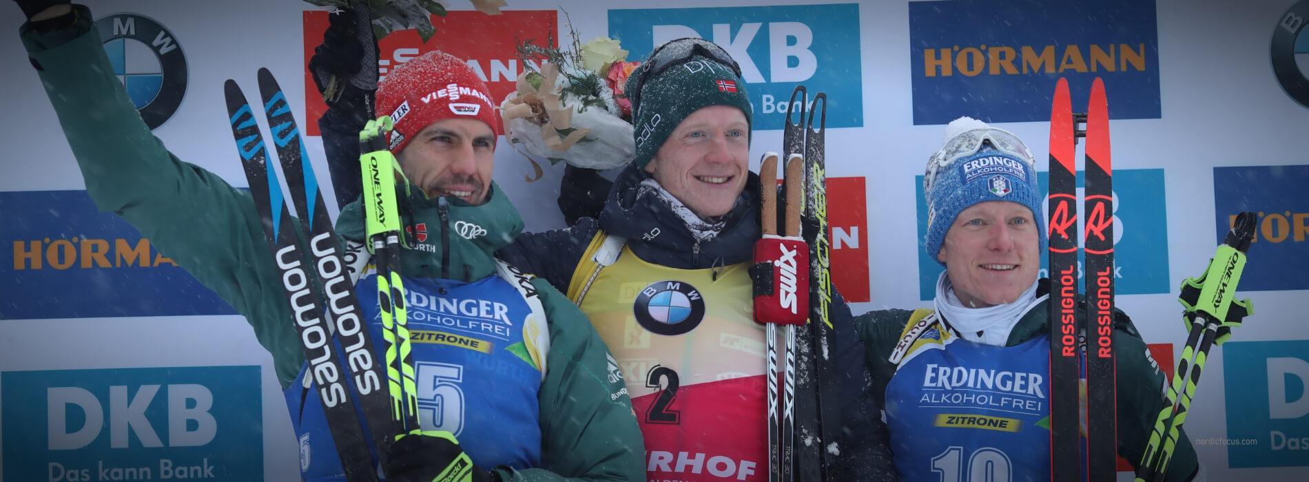 Arnd Peiffer, Lukas Hofer Oberhof Verfolger 2019