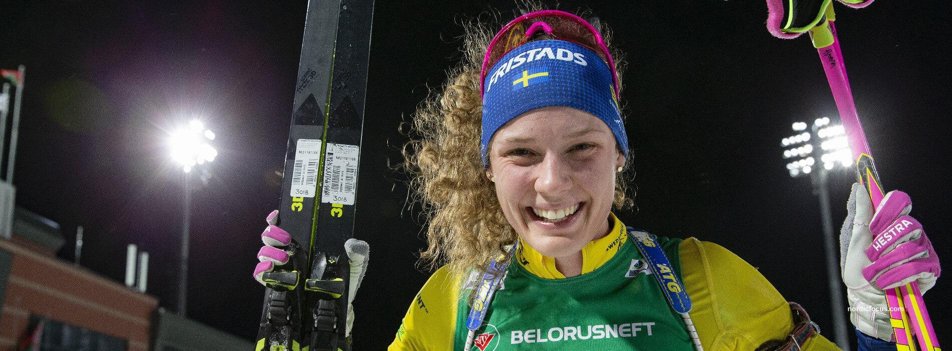 Oeberg Schweden Europameisterin Einzel