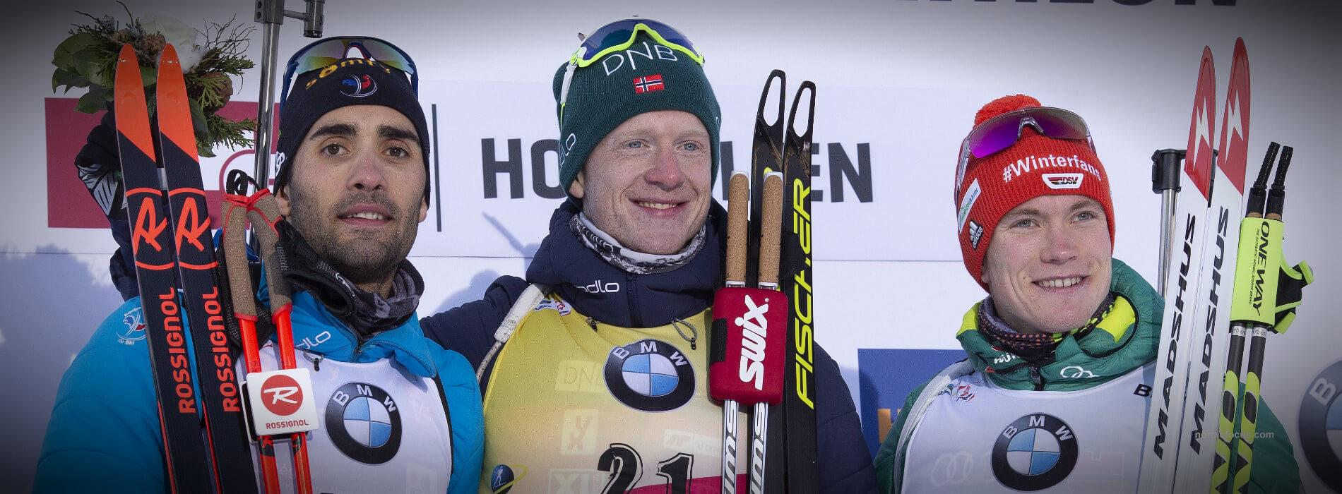 Martin Fourcade, Benedikt Doll, Johannes Thingnes Boe